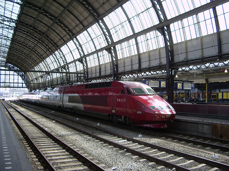 Thalys in Amsterdam Centraal