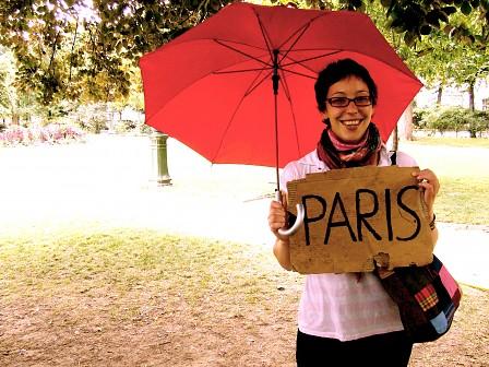 liften naar parijs