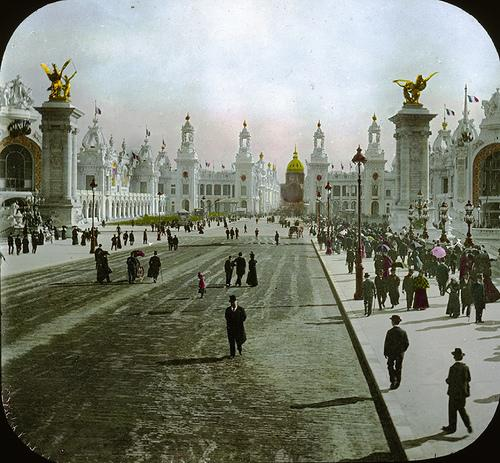 Paris Exposition: Esplanade des Invalides, Paris, France, 1900